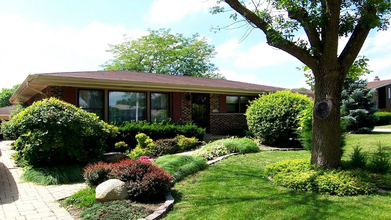 Beautiful Home For Sale In Schaumburg IL, All Brick Ranch