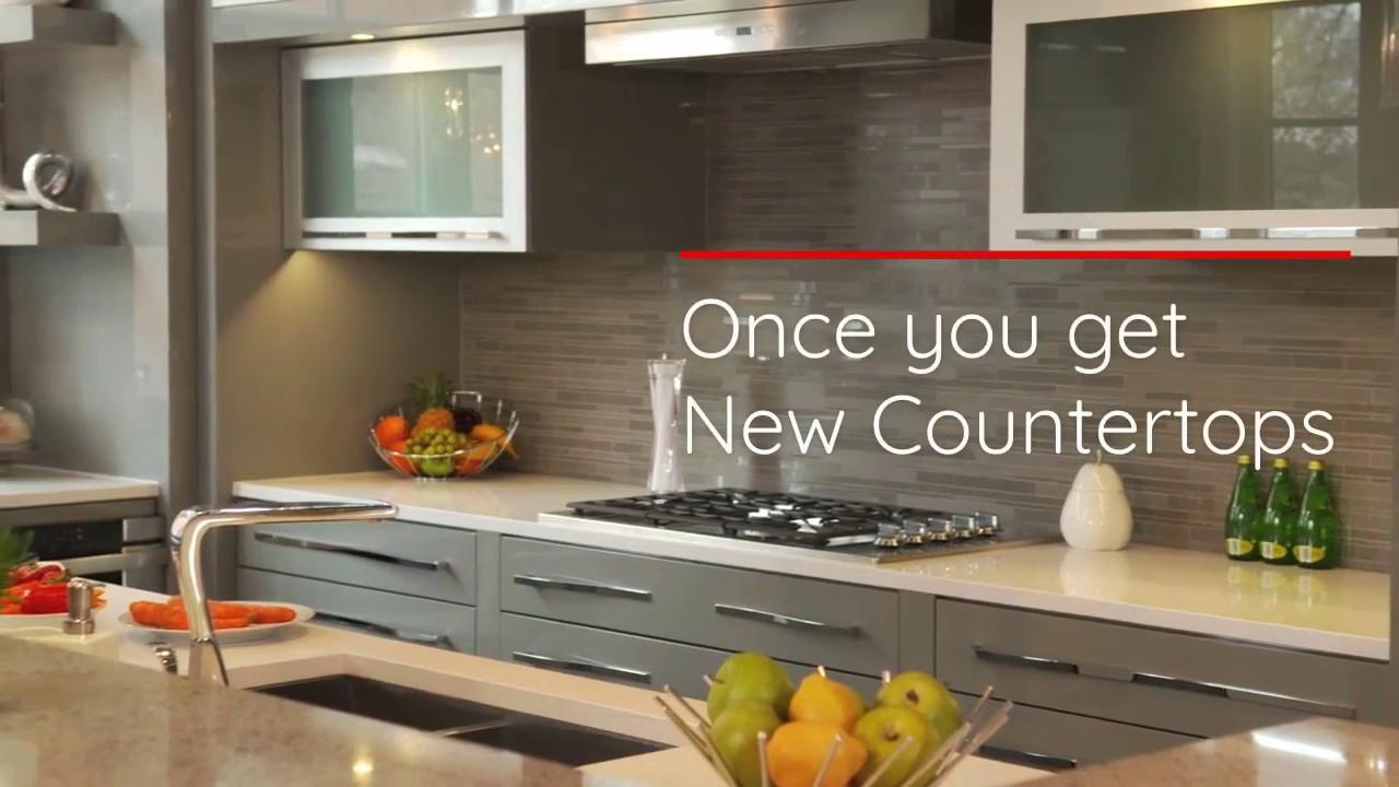 Quantum Kitchen Countertops Granite Quartz Edmonton Once