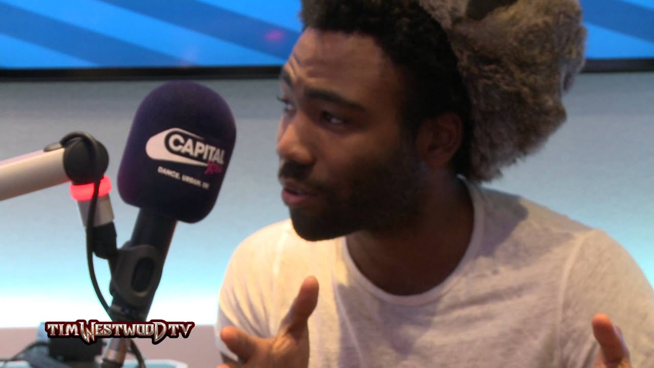 Childish Gambino on Because The Internet, Kanye West ... Childish Gambino And Kanye West