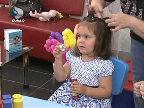 Forfecila Salon De Coafura Frizerie Pentru Copii La Kanal D Youtube