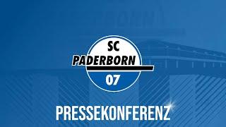 Pressekonferenz vor dem Spiel gegen den 1. FC Köln