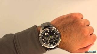 Casio Edifice Premium Chronograph Black Dial Watch Era-201d-1avef Hands On Review