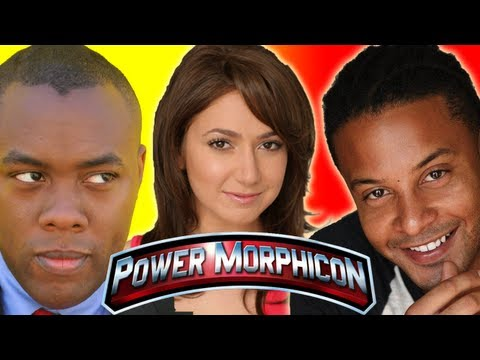 POWER RANGERS SPD - Monica May & Brandon Jay McLaren Power Morphicon 2012 Interview