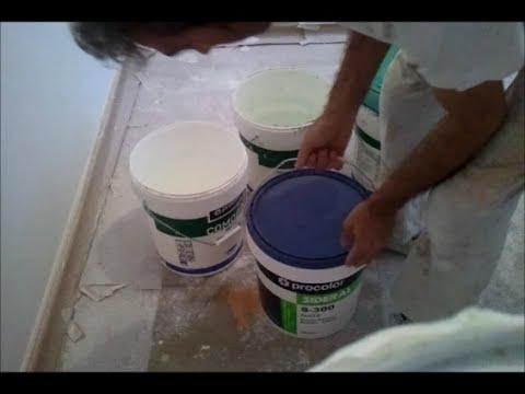 Como preparar diluir y tamizar la pintura plastica youtube - Como hacer pintura ...