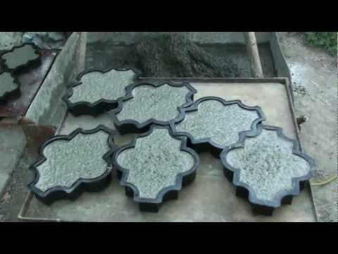 видео: самодельный вибростол плитка тротуарная