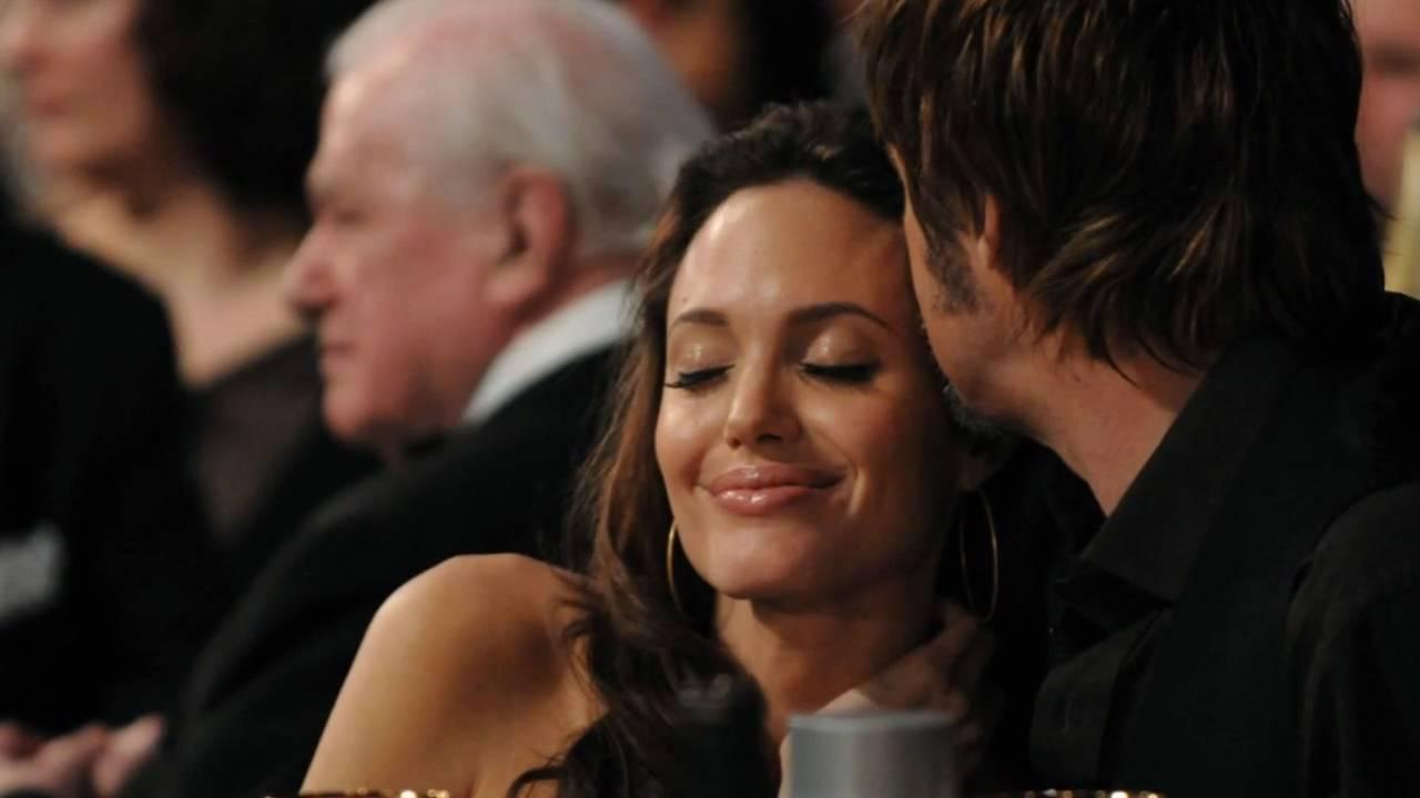 Angelina Jolie  Brad Pitt - Their Pda - Youtube-6674