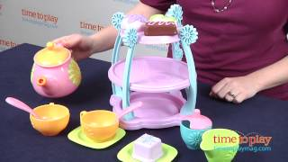 Servin' Surprises Tea Party Set From Fisher-price