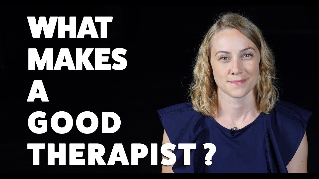 good therapist