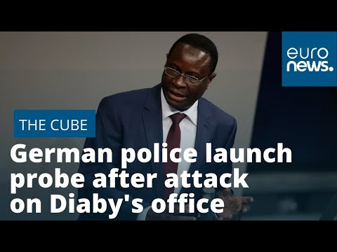 Karamba Diaby: German police launch probe after attack on office of Africa-born MP