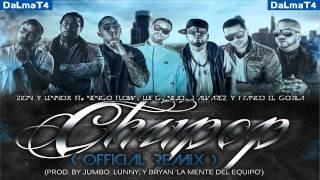 Zion & Lennox Ft. Lui G 21 Plus, Franco El Gorila, J Alvarez, Ñengo Flow Y Ñejo - Chupop (REMIX)