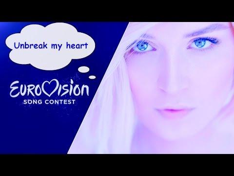 Polina Gagarina Russian Version cover Unbreak my heart