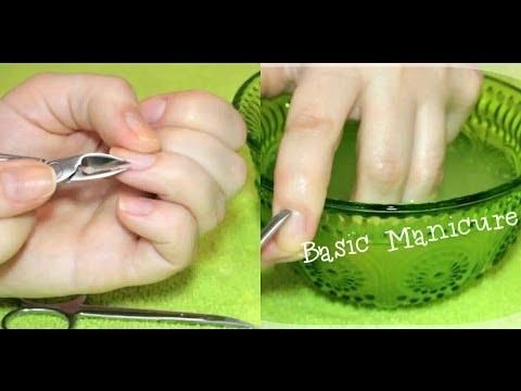 Как правильно сделать маникюр в домашних условиях пошаговое фото видео