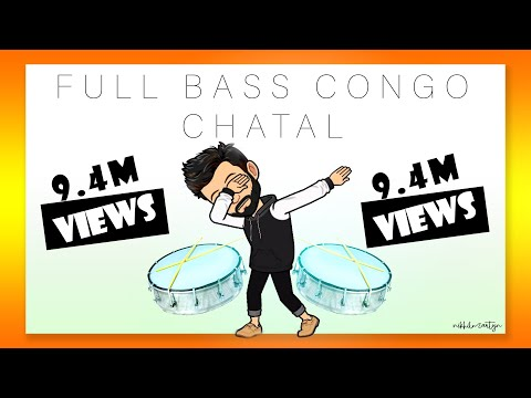 Full Bass Congo Chatal Band  Dj Nikhil Martyn