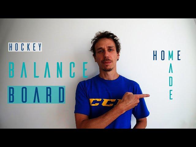 Hockey balance board | Homemade