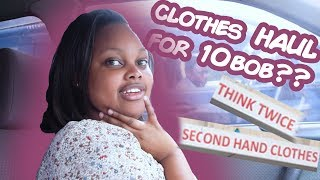 10 Bob Nairobi Shopping HAUL!