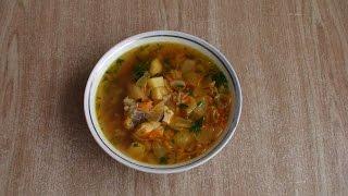 Суп луковый по-французски.