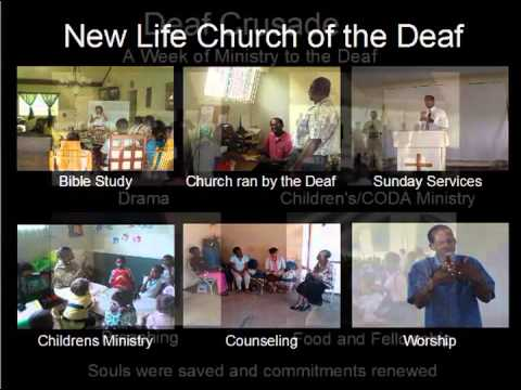 The Deaf Village Ministry in Jamaica led by Pastor Damian Campbell