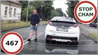 Stop Cham #467 - Niebezpieczne i chamskie sytuacje na drogach