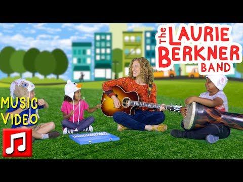 """Juniper Square"" By The Laurie Berkner Band From Superhero Album   Best Kids Songs"