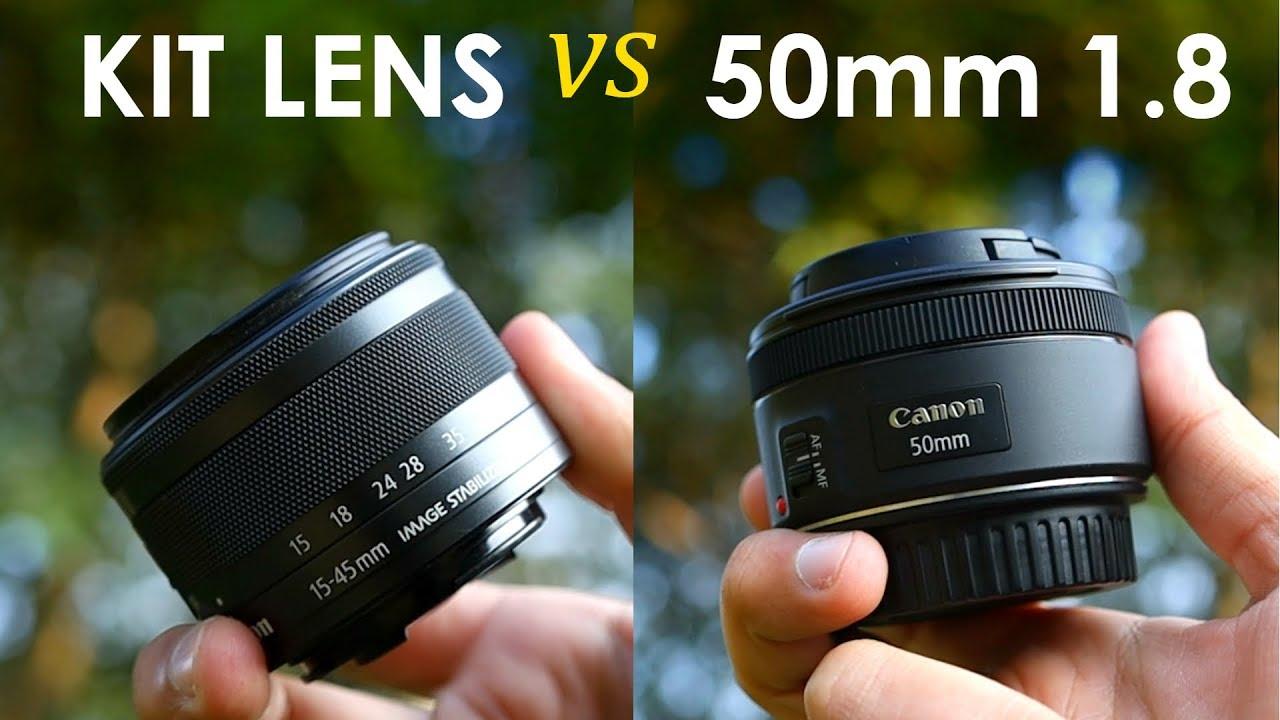 Kit Lens vs 50mm 1.8 Prime Lens | Best DSLR Lens? (in Hindi)