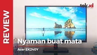 Review monitor Acer EK240Y_A, punya fitur oke dengan harga terjangkau