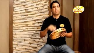 Curso de Pandeiro: Xote, Baião, Xaxado,Carimbó e Maracatu