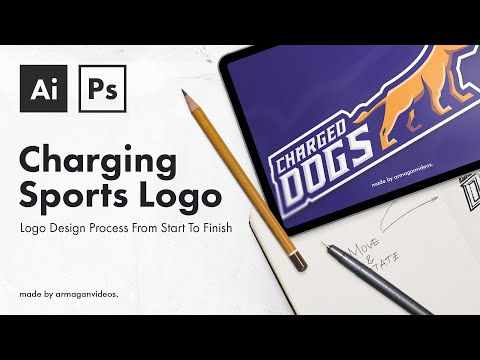 Illustrator Tutorial: From A Sketch To A Team Logo (E-Sports/Sports) thumbnail