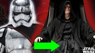 How Phasma's Armor Once Belonged to Emperor Palpatine - Star Wars Explained