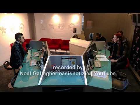 Noel Gallagher audio interview with Giulia Salvi on Virgin Radio Italy 9 Nov 2017