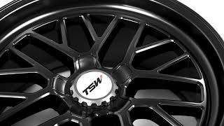 FUEL AUTOTEK Media: TSW Alloy Wheels | Hockenheim S in Semi Gloss Black