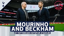 JOSE MOURINHO & DAVID BECKHAM AT TOTTENHAM HOTSPUR STADIUM! The 24 Hour Professional
