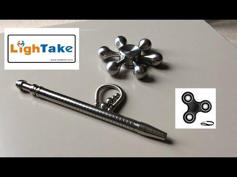 New High Speed Bearing Hexagon Spinner & Magnetic Fidget Pen