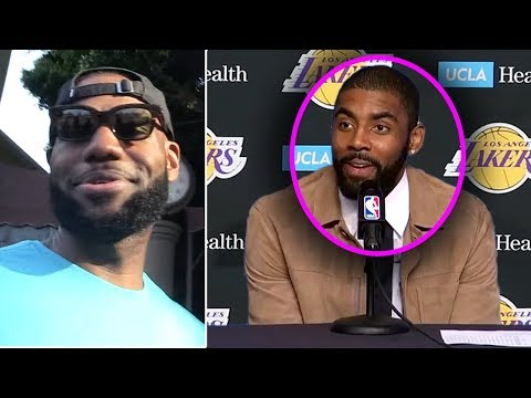 UPDATE! Kyrie Irving TO LAKERS! I Wanted To Play With KD & Anthony Davis TRADE INCOMING!