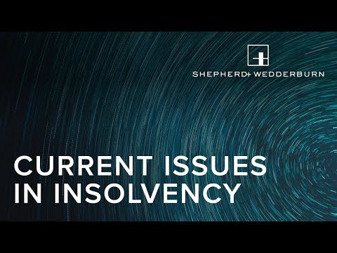 Current Issues in Insolvency - Dealing with Residential Property in Distressed Situations