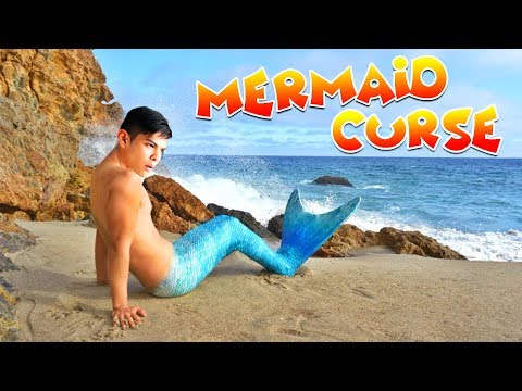 MERMAID CURSE?!! I'VE BECOME A MERMAN FOR 24 HOURS | 108Life Hacks