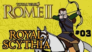 Total War: Rome 2 - Royal Scythian Campaign - Part Three - City Siege!