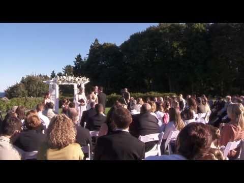 Wedding & Reception at Balance Rock Inn