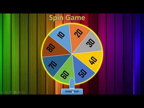 Tutorial Spin Game Powerpoint