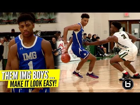 Jaden Springer And The IMG Squad Make It Look Too Easy!!