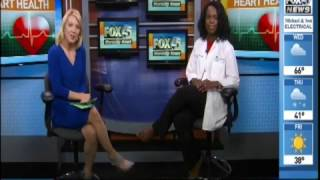Michelle Zikusoka, MD, Discusses Heart Disease in the African American Community on WBFF FOX-45