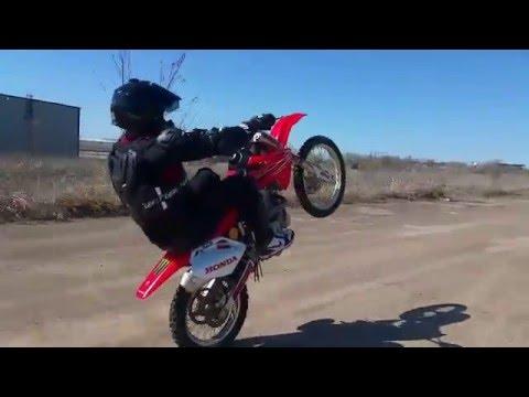 honda crf150rb crf150r expert 300 yard wheelies wheelie