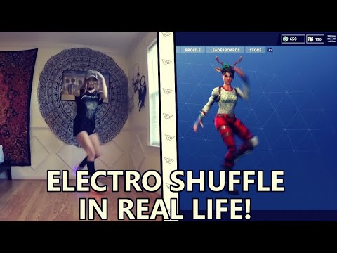 Fortnite ELECTRO SHUFFLE in REAL LIFE Original