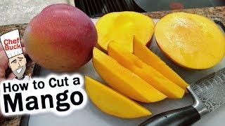 How To Cut A Mango + Easy Mango Smoothie Recipe
