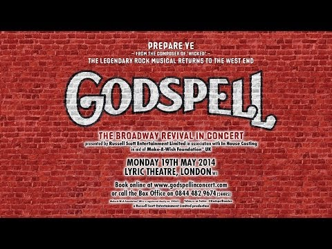 Godspell in Concert 2014 - Lyric Theatre, London (Monday 19th May)