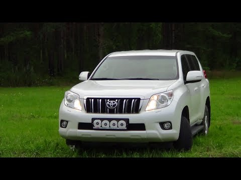 Toyota Land Cruiser Prado.  Тест-драйв и обзор.