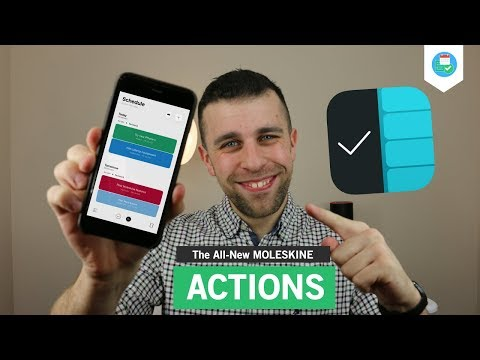The all-new Moleskine Actions: Things 3 meets Gneo