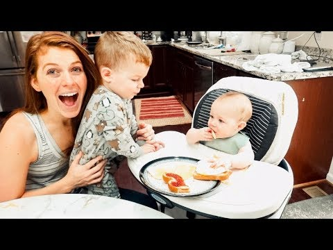 6-months-old-today!-ahhh!-&-baby's-first-meal-with-baby-led-weaning