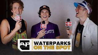 Waterparks Choose Between Fall Out Boy and My Chem and Discuss the Difficulties of Being a Demon