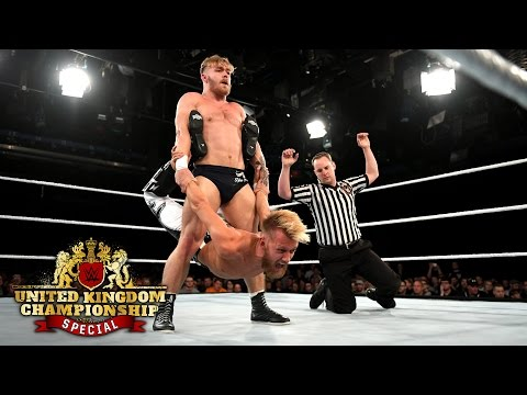 Tyler Bate vs. Mark Andrews  WWE U.K. Championship Match: WWE U.K. Championship Special, May 19,..
