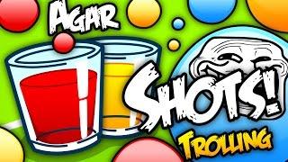 Agar.io Shots! | Trolling